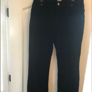 J.Jill 16 P stretch corduroy black pants